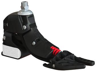 Upya® poly-articulated prosthetic foot