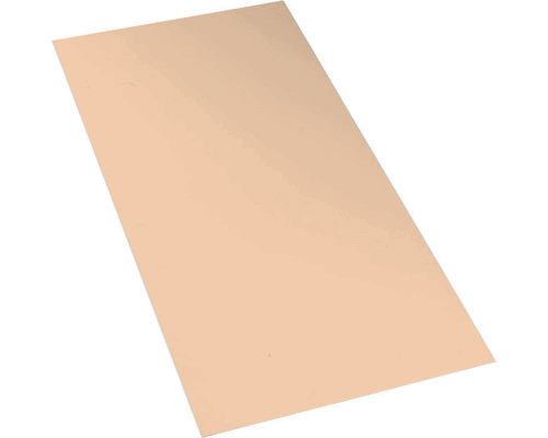 Polypropylene homopolymer sheet, 5mm, beige