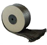 Carbon stockinette, 6k, 125mm