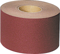 Abrasive cloth roll, 115mm x 50m, P40