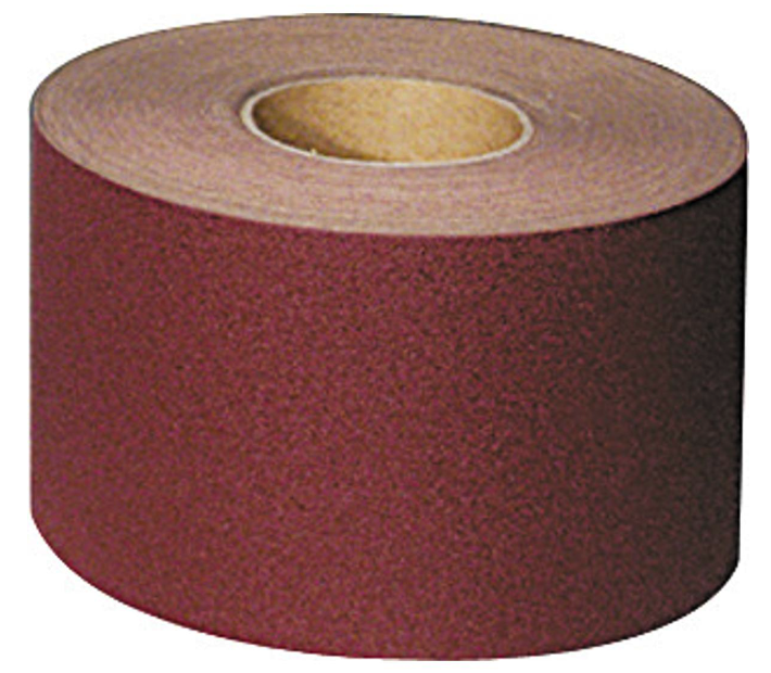 Abrasive cloth roll, 115mm x 50m, P120