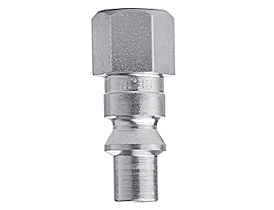 "Quick coupling, male part, 1/4"" inside thread, compr. air"