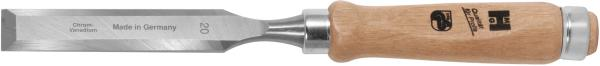 Mortise chisel with wooden handle 6 mm