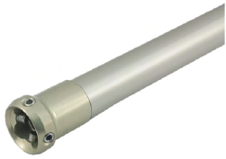 Tube Adapter, L:415 mm, Ø:30 mm, aluminium